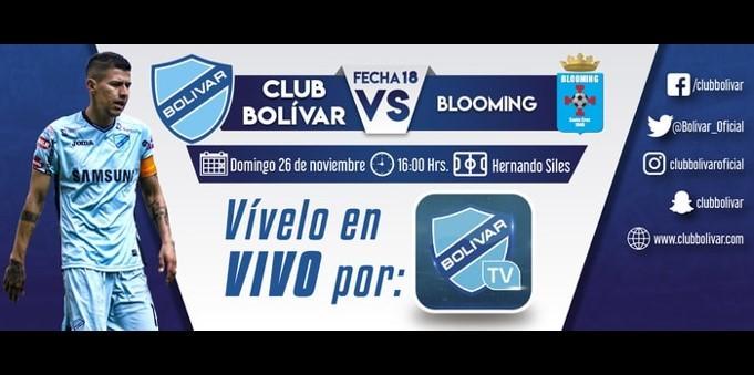 BOLIVAR VS BLOOMING